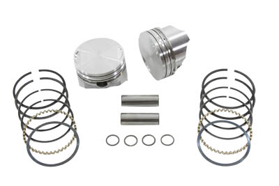 1200cc Piston Set .010 Oversize for XL 1988-UP Harley Sportster