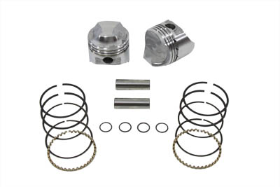 1000cc Piston Set .010 Oversize for XL 1972-1985 Sportster