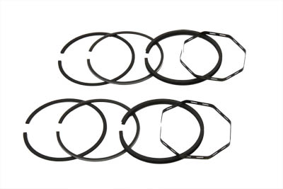 "74"" FLH Piston Ring Set .040 Oversize for Harley 1953-1977 Big Twins"