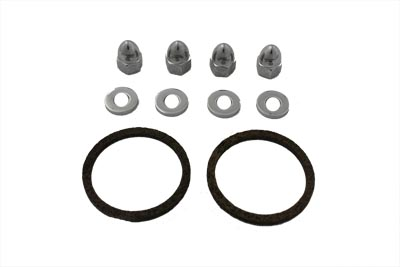 James Nut and Gasket Exhaust Kit for 1984-UP Big Twins & XL