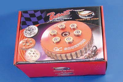 Barnett Scorpion Clutch Kit for Harley 1990-1997 Big Twins