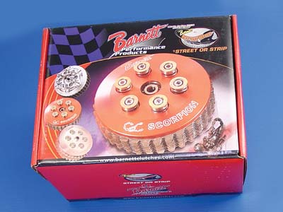 Barnett Scorpion Clutch Kit for 2006-2009 Harley Big Twins