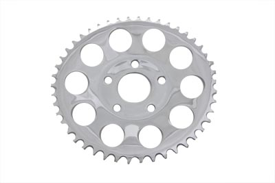 Chrome 46 Tooth Rear Sprocket for FXR 1982-1984 Harley