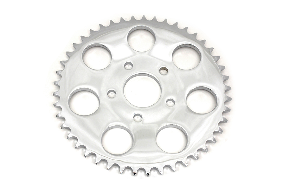 Chrome 45 Tooth Rear Sprocket for 1973-85 Harley Big Twin & XL