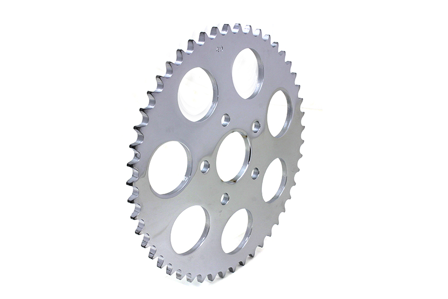 Chrome 49 Tooth Rear Sprocket for 1973-85 Harley Big Twin & XL