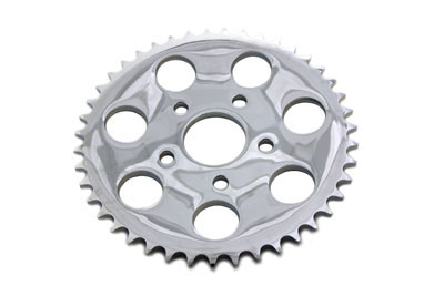 Chrome 43 Tooth Rear Sprocket for 1973-85 Harley Big Twin & XL