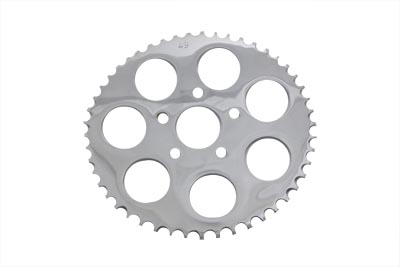 Chrome 49 Tooth Rear Sprocket for XL 1982-92 Harley Sportster