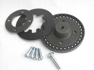 BDL Ball Bearing Lock Up Clutch Kit for Harley w/ BDL Belt Drives