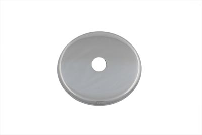 Chrome Alternator Belt Drive Disc Cover for Open Belt Drive Setup