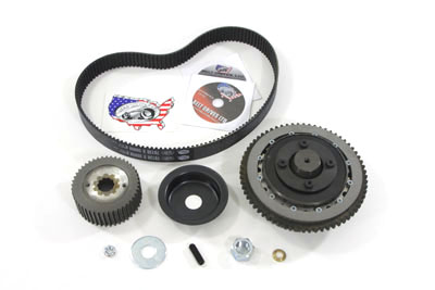BDL Belt Drive Kit 8mm for Harley FL & FX 1970-1984 w/ Chain Drive
