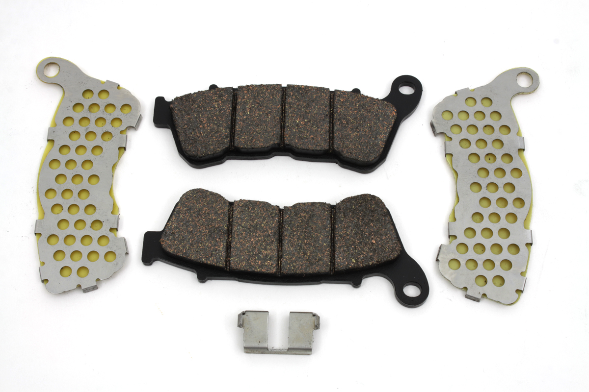 Dura Ceramic Front Brake Pad Set for XL 2014-UP Sportsters
