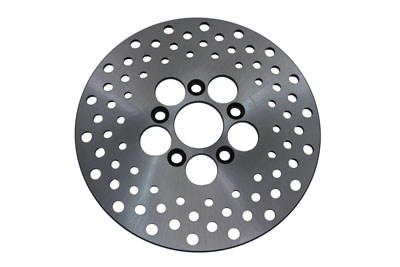 10 in. Drilled Front or Rear Brake Disc for 1972-1983 Big Twins & XL