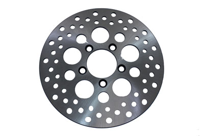 10 in. Drilled Front Brake Disc for Harley XL & FX 1978-1983