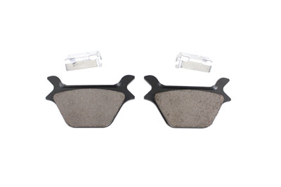 Dura Ceramic Rear Brake Pad Set for Harley 1987-1999 Big Twin & XL