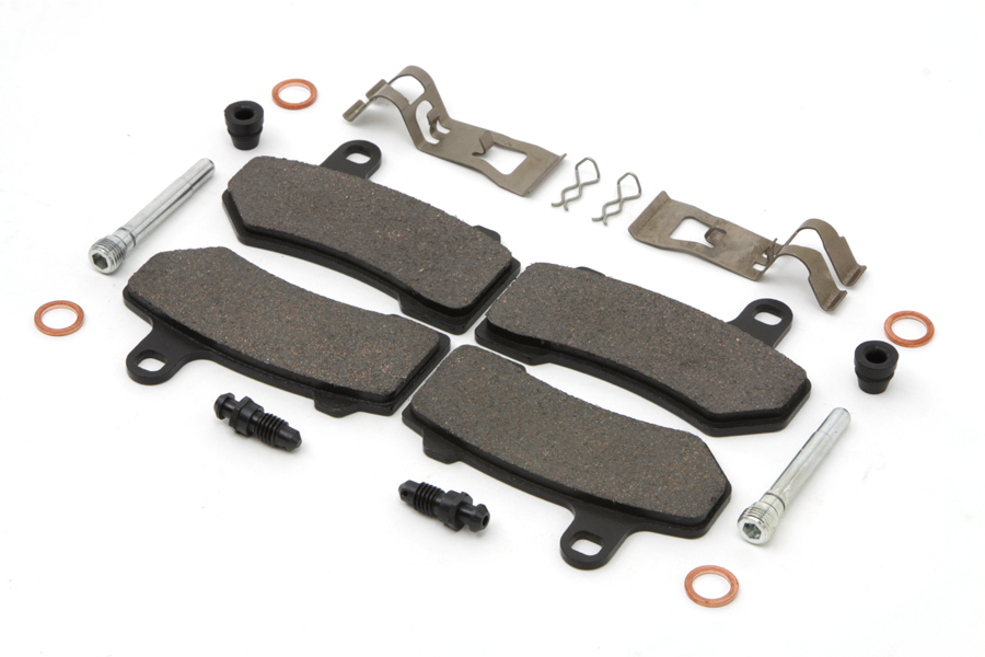 Dura Ceramic Front Brake Pad Set for 2008-UP FLT