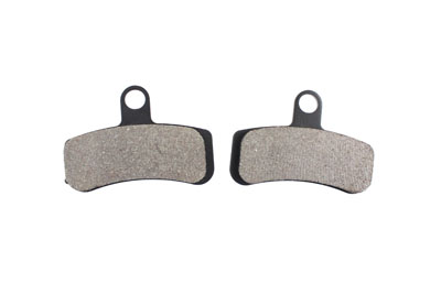 Dura Ceramic Front Brake Pad Set for 2008-UP Big Twin