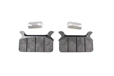 SBS Carbon Tech Rear Brake Pad Set for Harley FLT 1986-1999