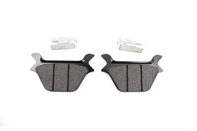 SBS Carbon Rear Disc Brake Pad Set Harley 1987-1999
