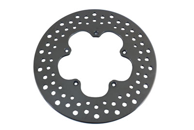 11.5 in. Front Drilled Brake Disc Clover Leaf Style XL & FX 1974-1977
