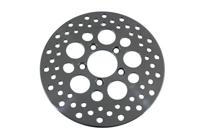10 in. Drilled Front Brake Disc for Harley FX & XL 1978-1983