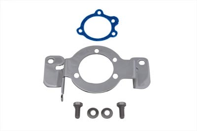 Chrome Carburetor Support Bracket for HS 40/42 Evolution
