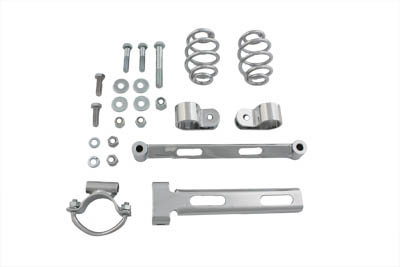 Rigid Solo Seat Spring Mount Kit for Harley & Customs