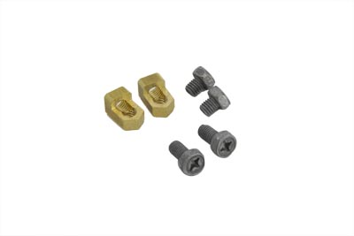 Brass Battery Terminal Adapter Kit for 1980-UP Big Twins & XL
