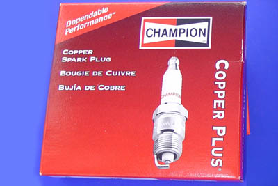 Champion 14mm Spark Plug for Harley FL & FX 1948-1974 Big Twins