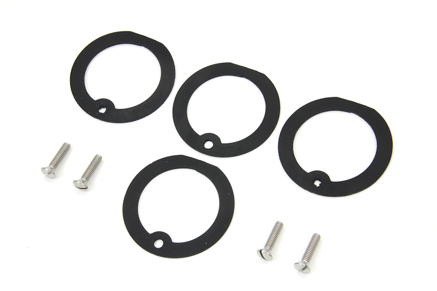 Bullet Marker Lamp Gasket Kit for FL & FLH 1941-1984