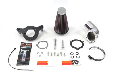 K&N Air Charger Intake Kit for 2001-up Harley Big Twins