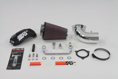K&N Air Charger Intake Kit for 2008-up Harley FLT Touring