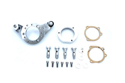 Chrome Air Cleaner Bracket Kit Billet for 1942-45 Mikuni to CV Carb