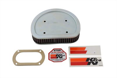 K&N Air Cleaner Element for 1999-2001 FX & FL Big Twins