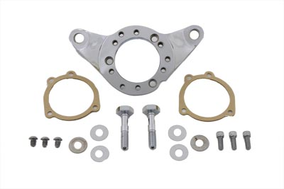 Billet Chrome Air Cleaner EFI Bracket Kit for Big Twin