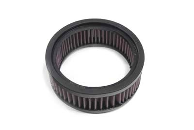 K&N 2 3/16 in. Tall Tear Drop Air Cleaner Filter for Big Twin & XL