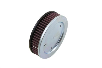 K&N Round Air Filter for 1984-1999 Harley FX & FL Big Twins