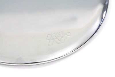 Chrome BILLET K&N Round Mirror Air Cleaner Kit for 1993-99 Big Twin EV