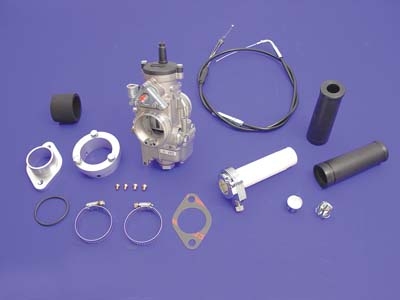 Dell'Orto 38mm Carburetor Kit for Harley 1957-85 Big Twins & XL