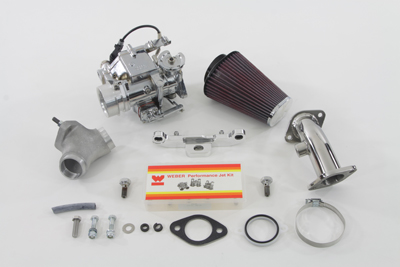 Weber 88 inch Carburetor Kit for 1999-up Harley Big Twin