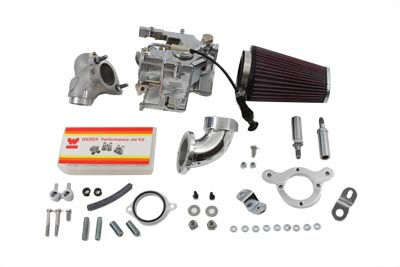 Weber 80 inch Carburetor Kit for 1984-1998 FX-FL Big Twins