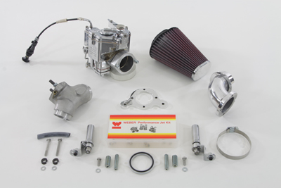 Weber 88 in. Carburetor Kit for 1999-UP FXST-FLST-FXD