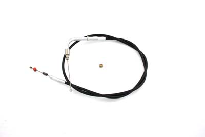 "33.375"" Black Idle Cable for Harley 2001-UP Big Twins"