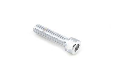 "Allen Socket Cap Bolt Knurled Chrome 1/4"" X 1"" Coarse - 10 Pack"