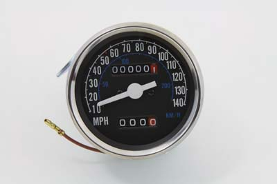 2:1 Speedometer Head for 1973-83 Harley FX & XL Sportster