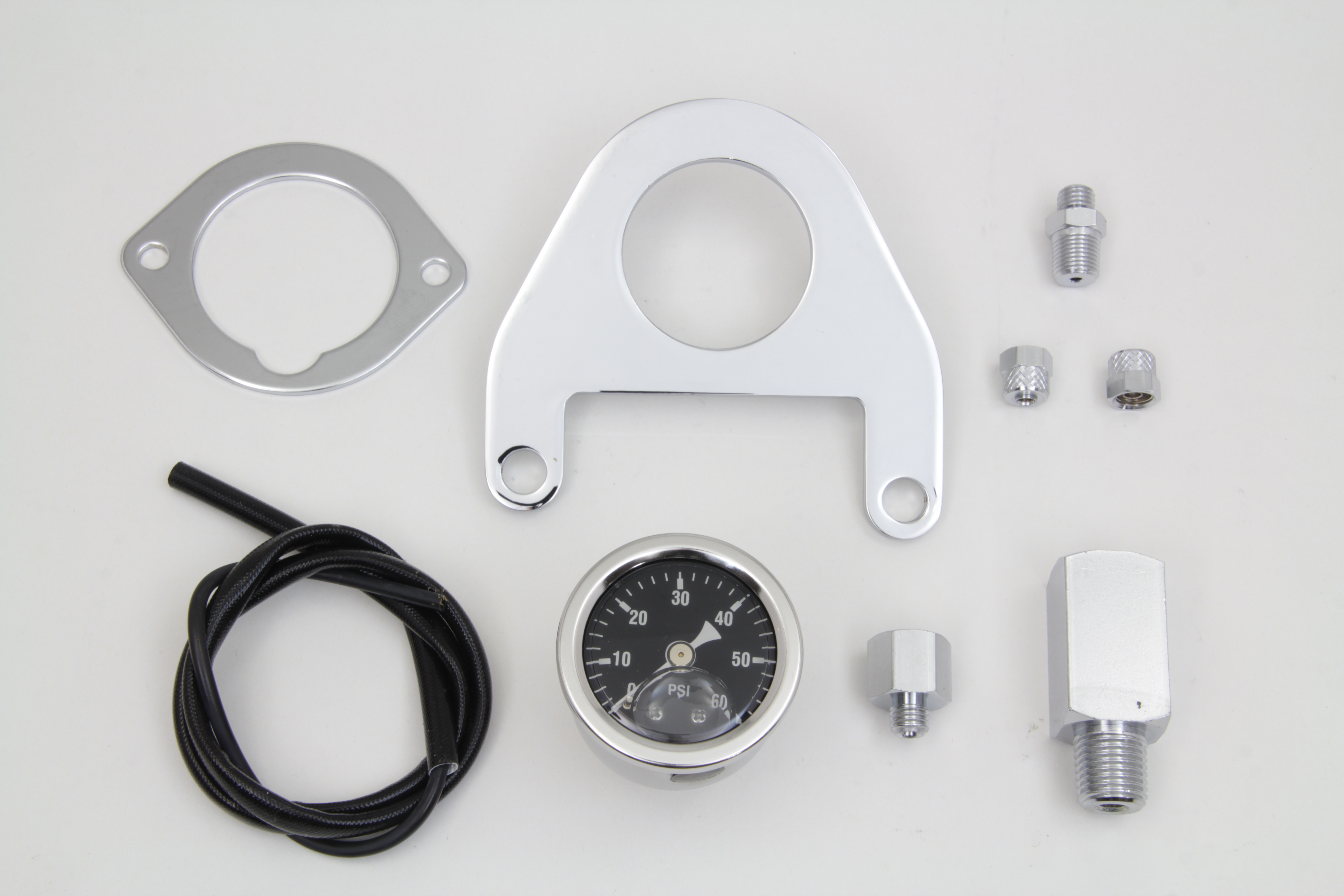 FXST 1999-UP Oil Pressure Gauge Mount Kit