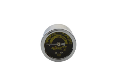 Accel Oil Pressure Gauge for Harley Big Twins & XL Sportster