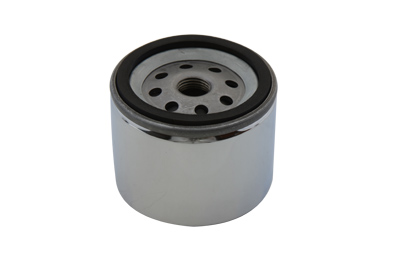MagnetekChrome 2.5 in. Oil Filter for 1980-84 Big Twins & XL Harley