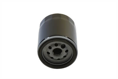 Hex Black 3.25 in. Spin On Oil Filter for 1999-UP Harley Big Twins