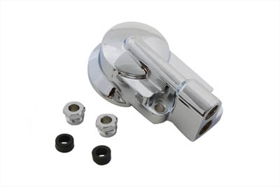 Chrome Oil Filter Housing for 1992-1999 FXST & FLST Harley Softails