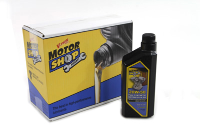 20-50W Motorshop Ready Oil Synthetic Gold - 6 Pack